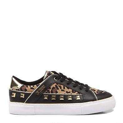 Guess,GALLINA LEOPA Animal Print Sneaker für Damen: Amazon