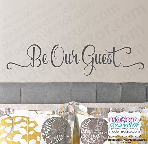 Be Our Guest Beauty And The Beast Vinyl Wall Decal