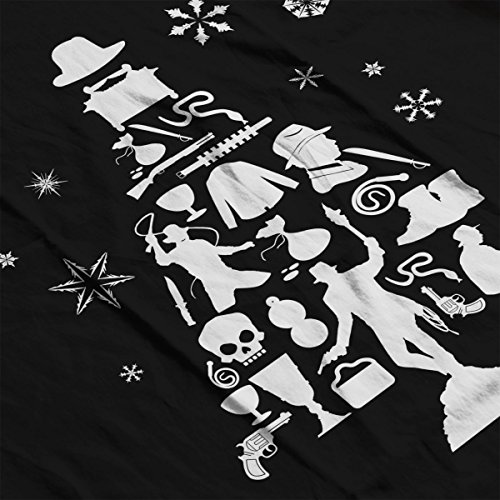 Men's Silhouette white Jones Tree Varsity Jacket Christmas Black Indiana wqaA4S4