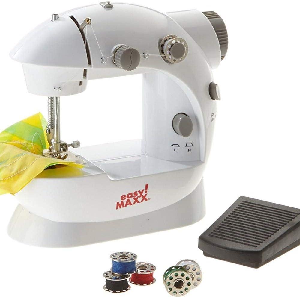TrAdE Shop Traesio Mini máquina de Coser Grapadora portátil 4 en 1 ...