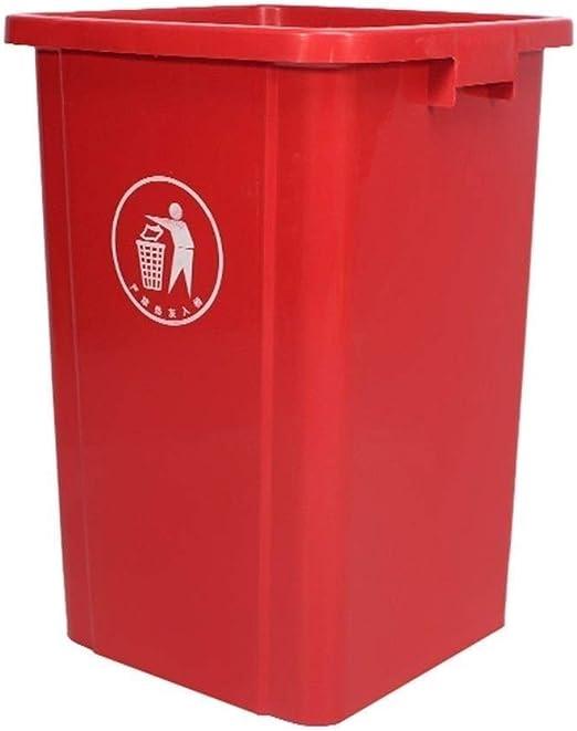 NMDD Bote de Basura de 100 litros, sin Tapa Papelera de plástico ...