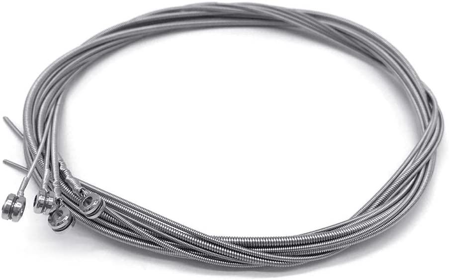 044-100 Cable de Acero para Piezas de bajo el/éctrico de 4 Cuerdas 1 Juego de Cuerdas de bajo WT-DDJJK Cuerda de bajo