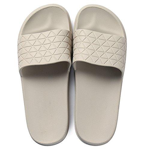 verano baño bañarse par hembra zapatillas fondo enfriar casa Zapatillas de grueso inicio Zapatillas fondo de DogHaccd con blando antideslizante Luz café color de de 6qYFHwt