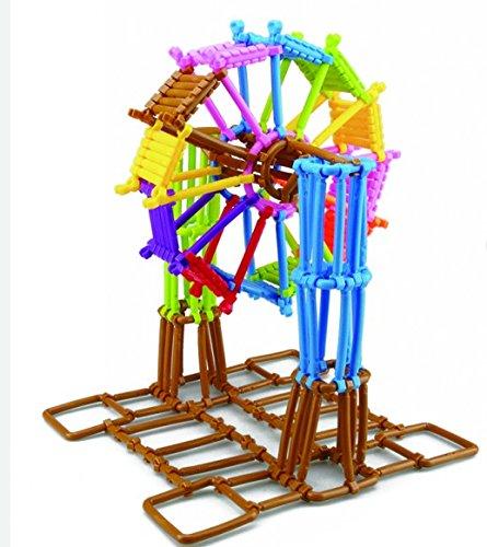 Interlocking Enginnering Toys Colorful Educational Skills Construction