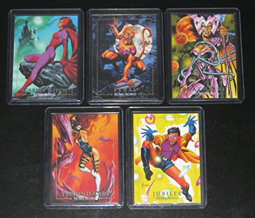 Marvel Masterpieces - 1992 Marvel Masterpieces Series I Lost Cards Insert Set of 5 Cards NM/M Joe Jusko Art