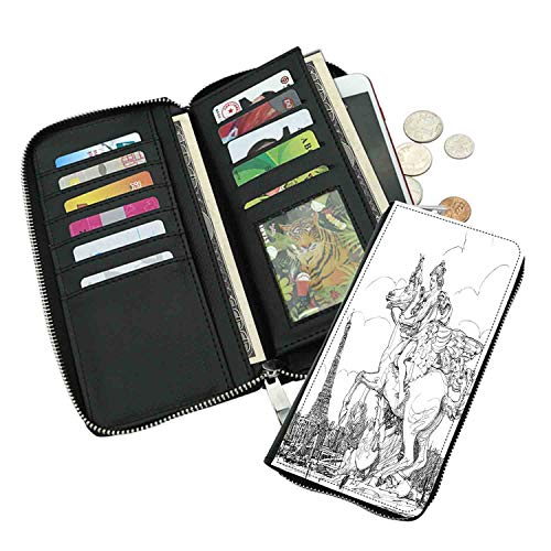 Fashion long wallet,European Cityscape France Historical for sale  Delivered anywhere in Canada
