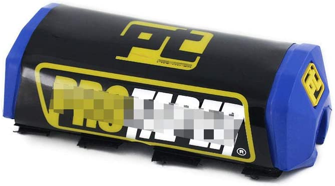 coussinets imprim/és pour moto cross Yamaha YZ80 YZ85 YZ125 YZ250 YZ250F YZ400F YZ426F Bleu poign/ées support de barre Guidon 28 mm