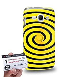 Case88 [Samsung Galaxy Ace 3] 3D impresa Carcasa/Funda dura para & Tarjeta de garantía - Art Fashion Visual Art Effect 15