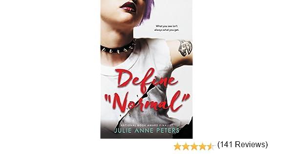 Amazon define normal ebook julie anne peters kindle store fandeluxe Choice Image
