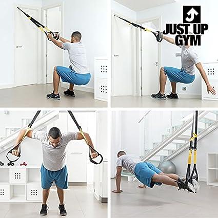 Just Up Gym Tensor para Ejercicios en suspensión: Amazon.es ...