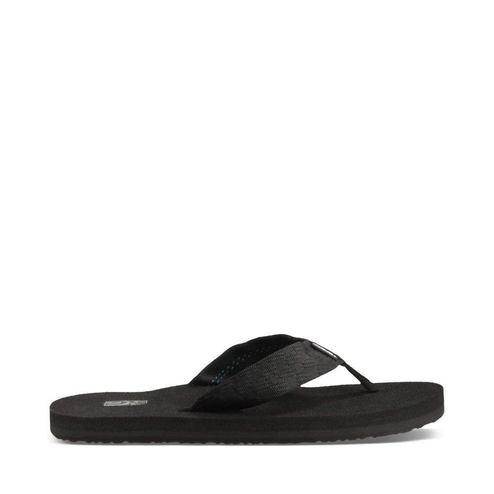 Teva Men's Mush II Flip Flop,Brick Black,7 M US