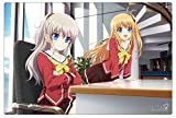 Charlotte Trading Card Game Desk Chara Rubber Playmat Anime
