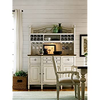 Universal Furniture 987670C Summer Hill Buffet With Complete Bar Hutch  Cotton