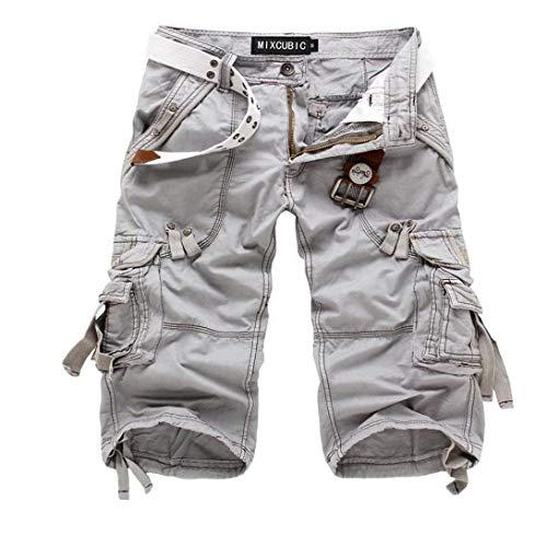 Camouflage De Vêtements Plein Air Hommes Braun Simple Multi Pantalon Pour Cargo Poches Été Fête Sport Short En xpB0Un7qCw