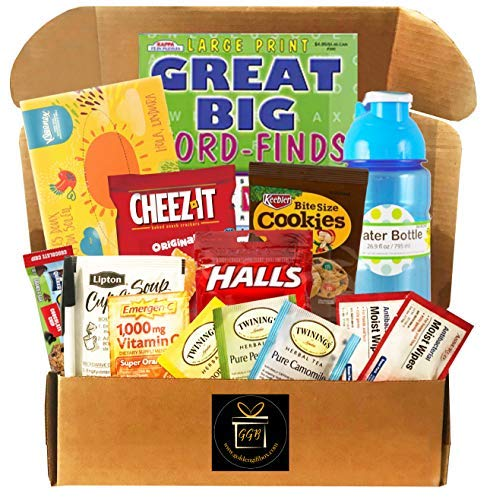 Gift basket for Cold and Flu for sick person