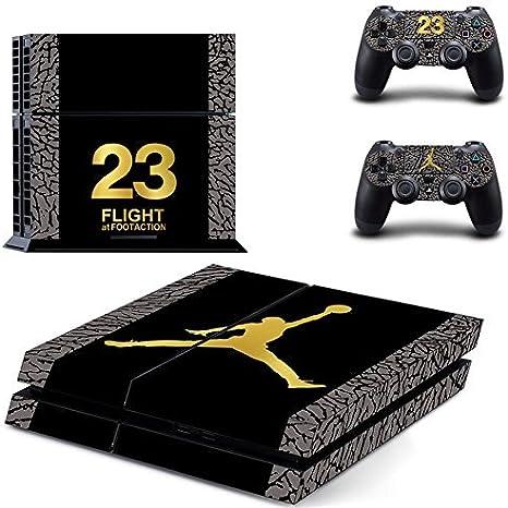 Air Jordan-PS4 Console Designer Skin for Sony PlayStation 4 System ...