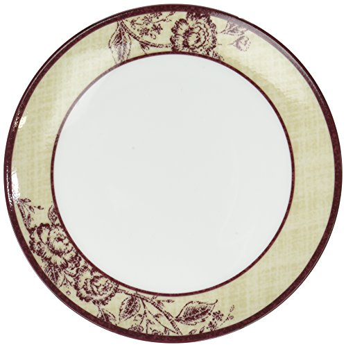 Noritake Tapestry Rose Bread and Butter Plate, Coupe Shape