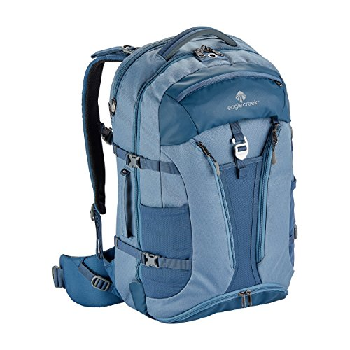 Eagle Creek Global Companion Travel Backpack, Smokey Blue, 40L (Best Weekend Hiking Backpack)