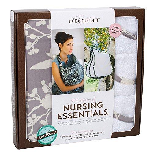 Bebe au Lait Premium Cotton Nursing Essentials Set, Nest