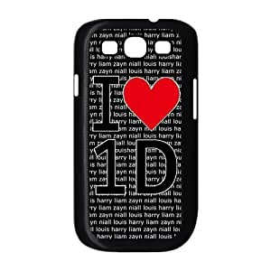 Fashion One Direction Hard Snap-on Slim Back Cover Case for Samsung Galaxy S3 i9300