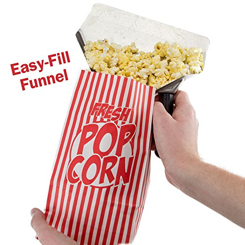 Stainless Steel Popcorn Scoop – Easy Fill Tool for Bags & Boxes, Great Utility Serving Scooper for Snacks, Desserts, Ice, & Dry Goods by Back of House Ltd. by Back of House Ltd. (Image #3)'