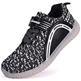 THEZX Kids LED Light up Shoes Casual Sneakers for