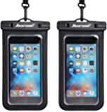 Universal Waterproof Case,Waterproof Phone Pouch Compatible for iPhone 11 Pro Max XS Max XR X 8 7 6S Plus Samsung Galaxy…