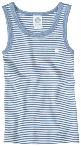 Sanetta Shirt o.Arm m.Motiv FR-RI 330801 Jungen Unterwäsche/ Unterhemden, Gr.104, Blau(5304 )