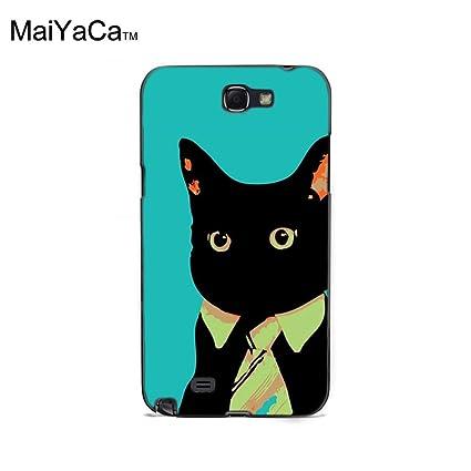 Amazon Com Maiyaca Tm M84544 Business Cat Wallpaper Phone Case For