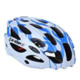 Water & Wood Cycling BMX Bike Helmet With 28 Flow Vents