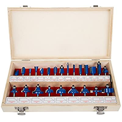 Stalwart Multi-purpose 24-piece Router Bit Set from HomePro