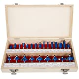 Stalwart Multi-purpose 24-piece Router Bit Set