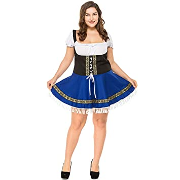 Amazon.com: Sexy Plus Size Beer Woman Costume German Maiden ...