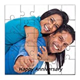 Personalised Wooden Photo Jigsaw Puzzle - Anniversary Birthday Gift For Friends Made Of Wood