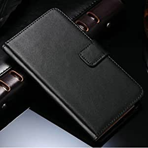 50 pcs/lot Note4 Genuine Leather Case For Samsung Galaxy Note 4 N9100 Wallet Style Flip Stand Phone Bag Cover Wholesale DHL --- Color:green phone case