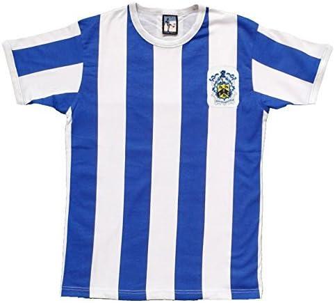 Old School Football Retro Huddersfield Town AÑOS 50 Fútbol Camiseta Nueva Tallas S-XXL - Azul/Blanco, Small: Amazon.es: Deportes y aire libre