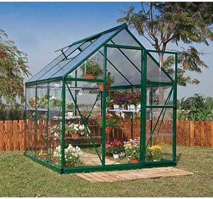 Palram Hybrid - Invernadero de 3, 44 m²- Hybrid6x6_4: Amazon.es ...