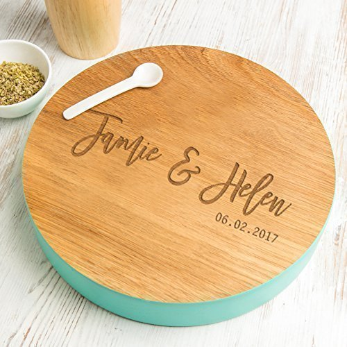 Engraved Serving Platter - Personalized Cake Stand - Personalized Wedding Table Centerpiece - Personalized Housewarming Gifts - Engraved Wedding Gifts for the -