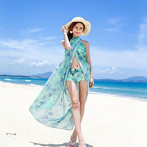 HTWWJ Mujer Split Flat Bikini Tres Juegos De Pecho Pequeño Se Reunen Conservador