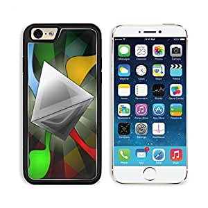 Abstract Artistic Multi Color Geometry Apple iPhone 6 TPU Snap Cover Premium Aluminium Design Back Plate Case Customized Made to Order Support Ready MSD iPhone_6 Professional Case Touch Accessories Graphic Covers Designed Model Sleeve HD Template Wallpape