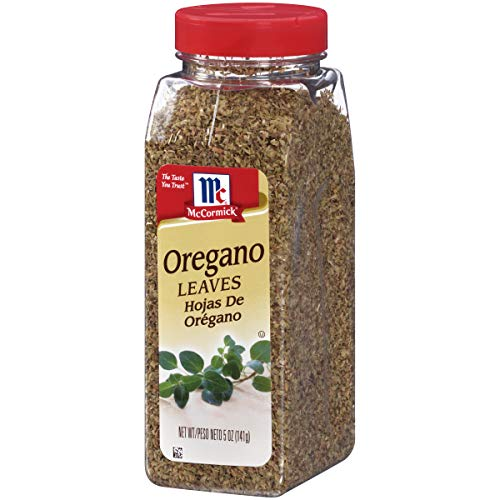 - McCormick Oregano Leaves, 5 oz