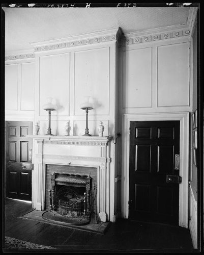 Photo: Federal Hill,fireplaces,molding,Fredericksburg,Virginia,Architecture,South,1927 by Infinite Photographs