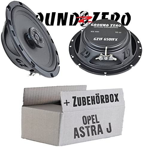 Opel Astra J Ground Zero Gzif 6501fx 16 Cm Speakers Coaxial Flat Mounting Kit Navigation Car Hifi