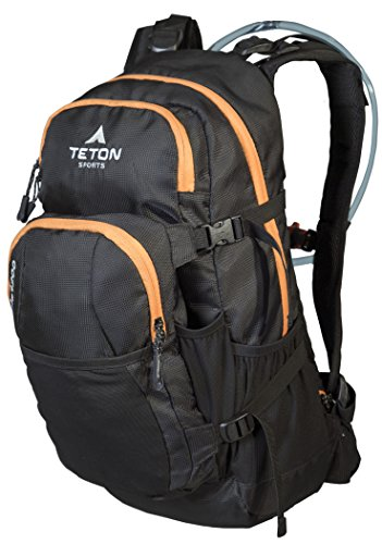 TETON Sports Oasis 1200 3 Liter Hydration Backpack Perfect for Skiing, Running, Cycling, Biking, Hiking, Climbing, and Hunting; 3 L Water Bladder Included; Free Rain Cover Included