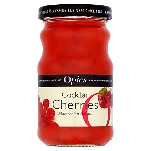 Opies - Red Cocktail Cherries - 225g (Walnut Pickled Pickles)