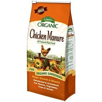Espoma GM25 Organic 3-2-3 Chicken Manure, 25 lb.
