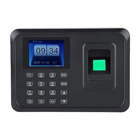 2.4 Pulgadas de Huella Dactilar Máquina de Asistencia con contraseña Pantalla TFT LCD Empleado Registro de