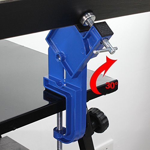 XCMAN All Metal Alpine Ski Vise For Ski Tuning and Waxing Adjustable Angle and Height Durable and Stable