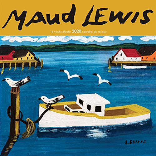 Maud Lewis 2020 12 x 12 Inch Monthly Square Wall Calendar, Arts Folk Artists Pictures Paintings