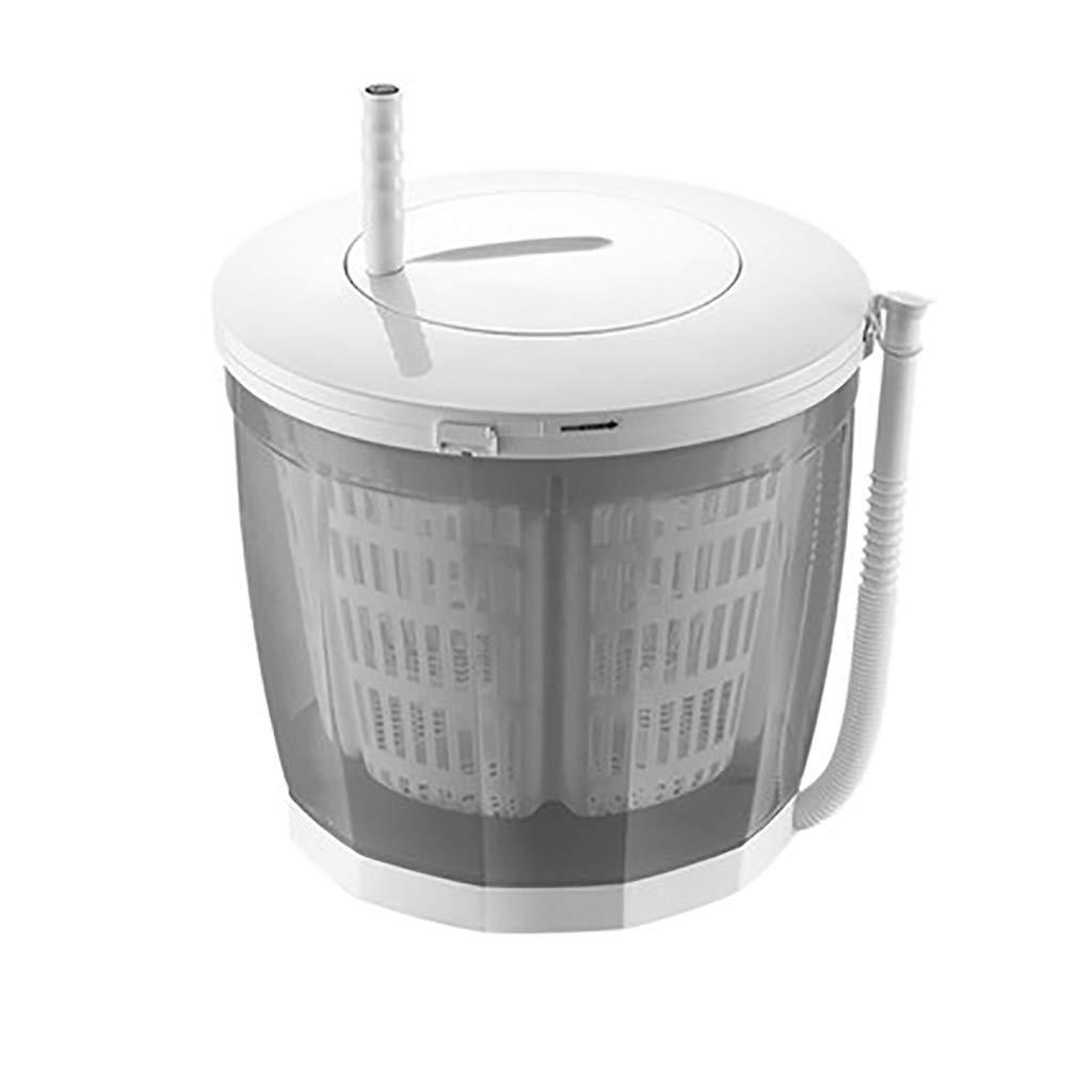 Mini Machine à Laver DéShydrateur Manuel Campant De Machine à Laver en Plastique De Petite Machine à Laver Simple dans Le Dortoir Laveur Simple De Lavage Contre La Laveuse Portative 3KG / 6.6Lbs HCP HOME